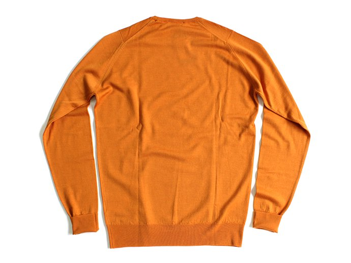 Other Brands JOHN SMEDLEY / MARCUS クルーネックセーター - Butternut Squash 02