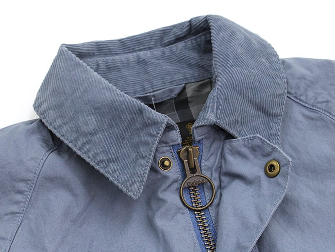 Barbour BEDALE SL Overdyed - Chambray 02