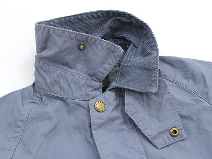 Barbour BEDALE SL Overdyed - Chambray<img class='new_mark_img2' src='//img.shop-pro.jp/img/new/icons47.gif' style='border:none;display:inline;margin:0px;padding:0px;width:auto;' /> 02