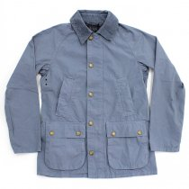 Barbour BEDALE SL Overdyed - Chambray