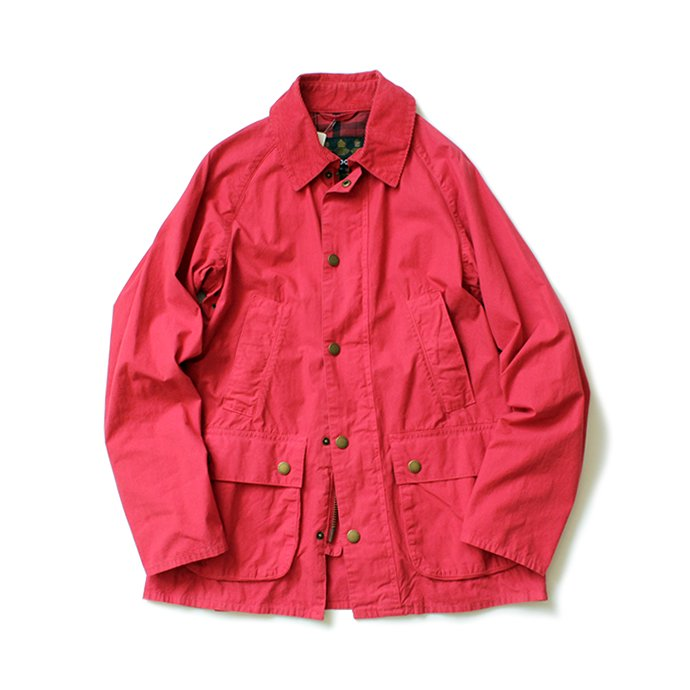 Barbour BEDALE SL Overdyed - Red ビデイルSL オーバーダイド レッド 01