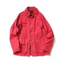 Barbour BEDALE SL Overdyed - Red ビデイルSL オーバーダイド レッド