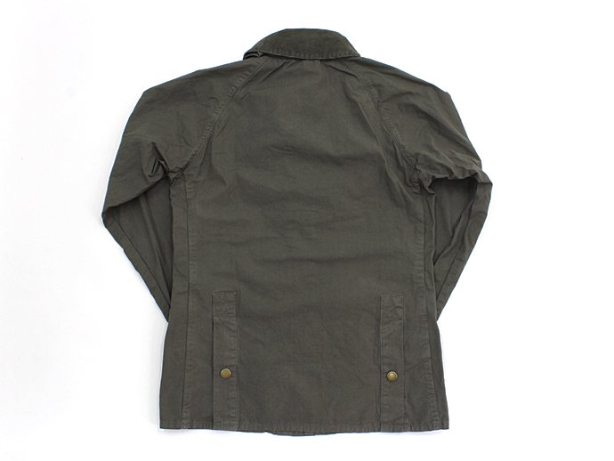 Barbour BEDALE SL Overdyed - Olive 02