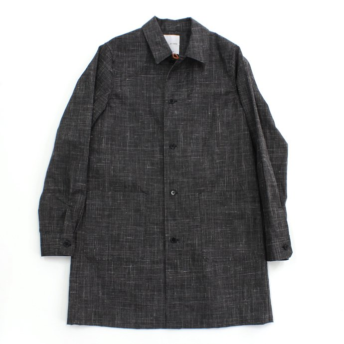 71848413 STILL BY HAND / ウレタンコーティングリネン シャツコート - Charcoal Glen Plaid<img class='new_mark_img2' src='//img.shop-pro.jp/img/new/icons47.gif' style='border:none;display:inline;margin:0px;padding:0px;width:auto;' /> 01