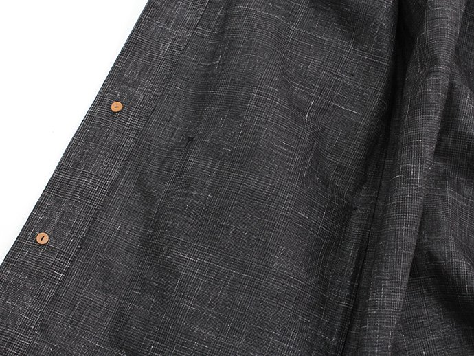 71848413 STILL BY HAND / ウレタンコーティングリネン シャツコート - Charcoal Glen Plaid<img class='new_mark_img2' src='//img.shop-pro.jp/img/new/icons47.gif' style='border:none;display:inline;margin:0px;padding:0px;width:auto;' /> 02