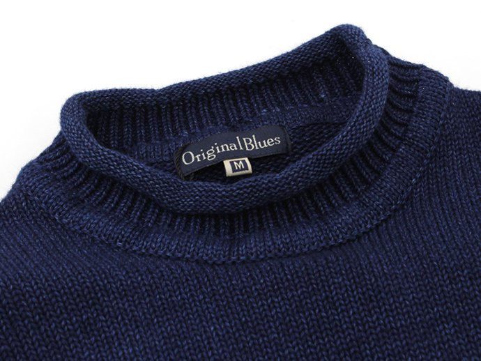 Original Blues Original Blues / Indigo Weekender ロールネックインディゴセーター - Navy<img class='new_mark_img2' src='//img.shop-pro.jp/img/new/icons47.gif' style='border:none;display:inline;margin:0px;padding:0px;width:auto;' /> 02
