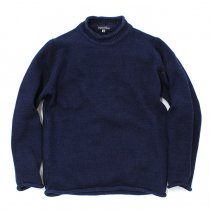 Original Blues Original Blues / Indigo Weekender ロールネックインディゴセーター - Navy