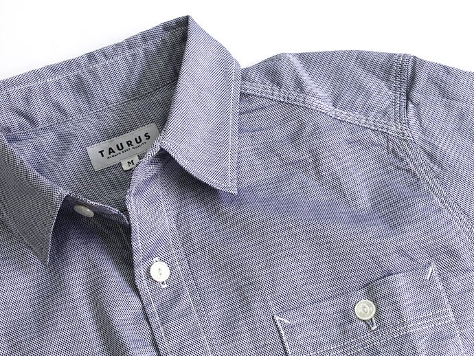 TAURUS Royal Oxford Workingman's Shirts ロイヤルオックス ワークシャツ - Navy 02
