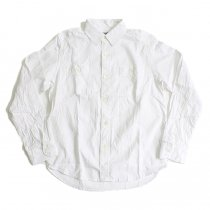 TAURUS Royal Oxford Workingman's Shirts ロイヤルオックス ワークシャツ - White