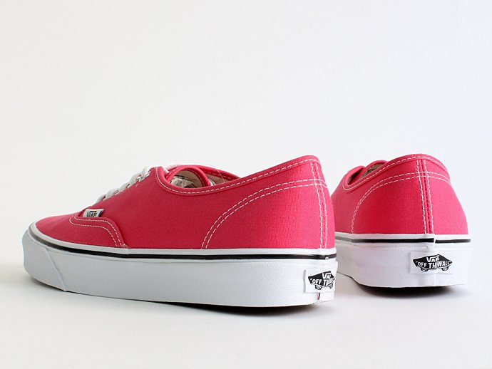 VANS Canvas Authentic - Rouge Red/True White キャンバスオーセンティック 02
