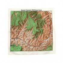 Other Brands The Printed Image / Nature Facts Bandanas - Grand Canyon National Park ブリンテッドイメージ/ネイチャープリントバンダナ