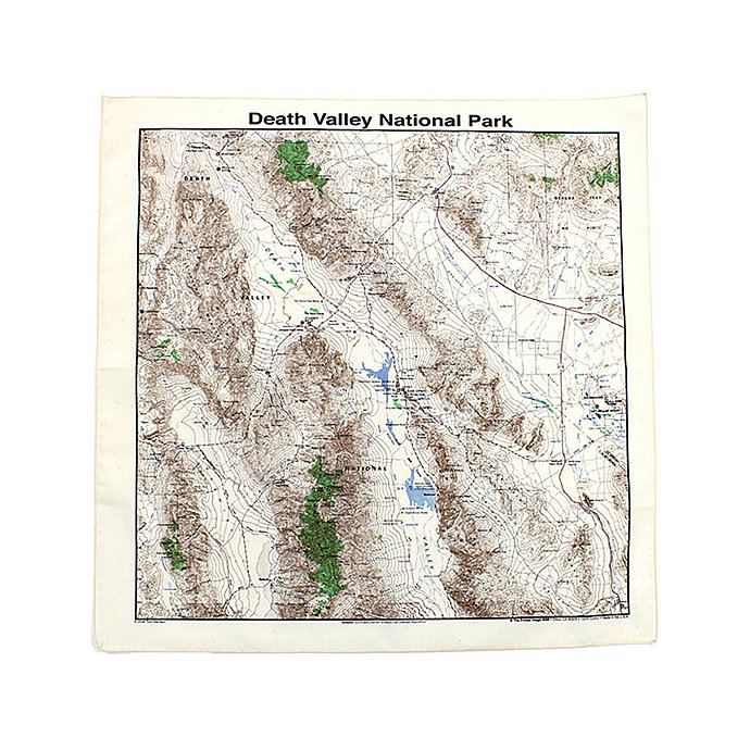 Other Brands The Printed Image / Nature Facts Bandanas - Death Valley National Park ブリンテッドイメージ/ネイチャープリントバンダナ<img class='new_mark_img2' src='//img.shop-pro.jp/img/new/icons47.gif' style='border:none;display:inline;margin:0px;padding:0px;width:auto;' /> 01