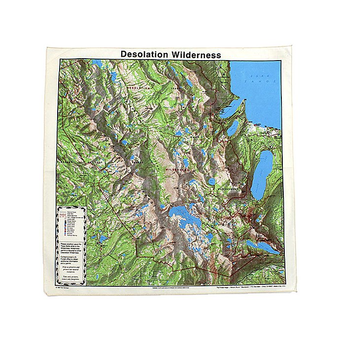 Other Brands The Printed Image / Nature Facts Bandanas - Desolation Wilderness ブリンテッドイメージ/ネイチャープリントバンダナ 01