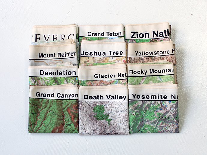 Other Brands The Printed Image / Nature Facts Bandanas - Desolation Wilderness ブリンテッドイメージ/ネイチャープリントバンダナ 02