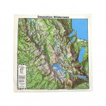 Other Brands The Printed Image / Nature Facts Bandanas - Desolation Wilderness ブリンテッドイメージ/ネイチャープリントバンダナ