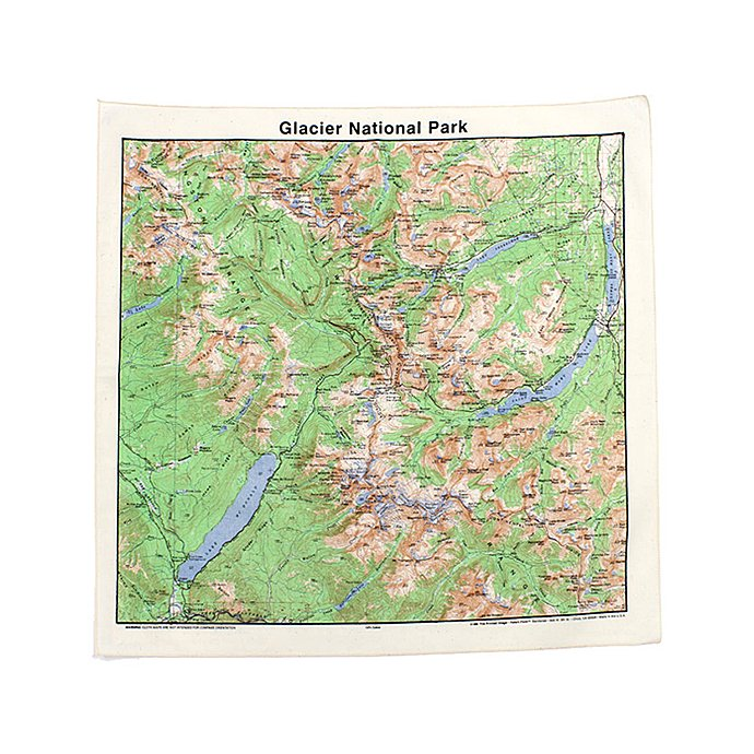 Other Brands The Printed Image / Nature Facts Bandanas - Glacier National Park ブリンテッドイメージ/ネイチャープリントバンダナ<img class='new_mark_img2' src='//img.shop-pro.jp/img/new/icons47.gif' style='border:none;display:inline;margin:0px;padding:0px;width:auto;' /> 01