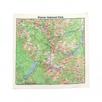 The Printed Image / Nature Facts Bandanas - Glacier National Park ブリンテッドイメージ/ネイチャープリントバンダナ<img class='new_mark_img2' src='//img.shop-pro.jp/img/new/icons47.gif' style='border:none;display:inline;margin:0px;padding:0px;width:auto;' />