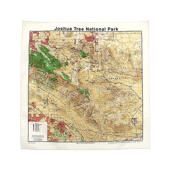 Other Brands The Printed Image / Nature Facts Bandanas - Joshua Tree National Park ブリンテッドイメージ/ネイチャープリントバンダナ<img class='new_mark_img2' src='//img.shop-pro.jp/img/new/icons47.gif' style='border:none;display:inline;margin:0px;padding:0px;width:auto;' /> 01