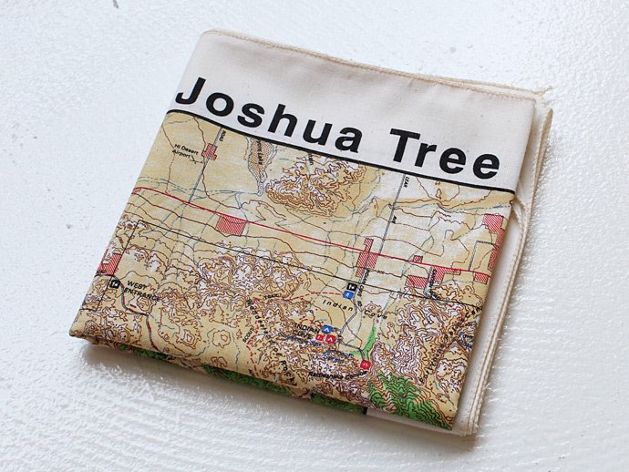Other Brands The Printed Image / Nature Facts Bandanas - Joshua Tree National Park ブリンテッドイメージ/ネイチャープリントバンダナ<img class='new_mark_img2' src='//img.shop-pro.jp/img/new/icons47.gif' style='border:none;display:inline;margin:0px;padding:0px;width:auto;' /> 02