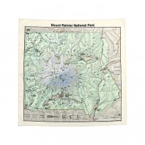 Other Brands The Printed Image / Nature Facts Bandanas - Mount Rainier National Park ブリンテッドイメージ/ネイチャープリントバンダナ