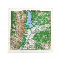 Other Brands The Printed Image / Nature Facts Bandanas - Grand Teton National Park ブリンテッドイメージ/ネイチャープリントバンダナ