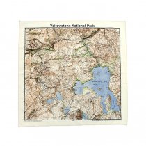 Other Brands The Printed Image / Nature Facts Bandanas - Yellowstone National Park ブリンテッドイメージ/ネイチャープリントバンダナ