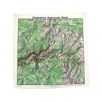 Other Brands The Printed Image / Nature Facts Bandanas - Yosemite National Park ブリンテッドイメージ/ネイチャープリントバンダナ