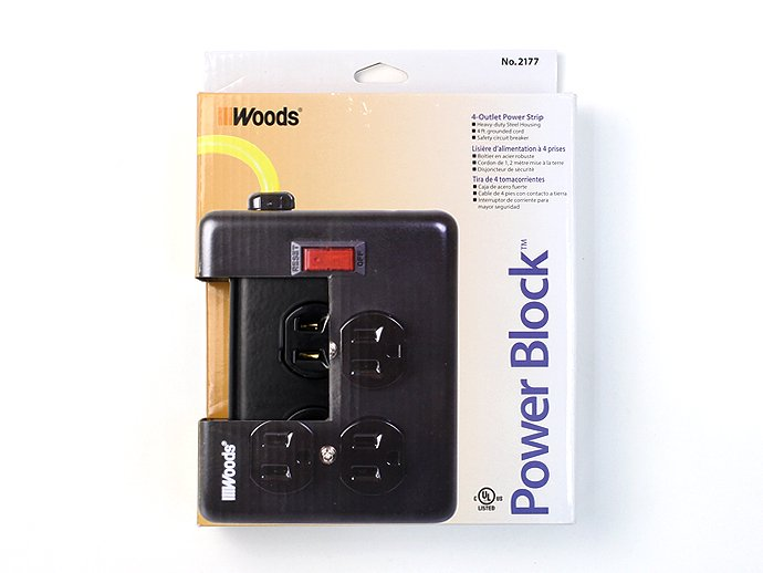 Other Brands Woods / Power Block 4個口タップ<img class='new_mark_img2' src='//img.shop-pro.jp/img/new/icons47.gif' style='border:none;display:inline;margin:0px;padding:0px;width:auto;' /> 02