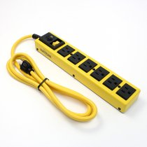 Woods / Yellow Jacket Metal Power Strip 6個口タップ