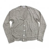 TAURUS / Linen Jersey Cardigan リネン天竺カーディガン - Grey<img class='new_mark_img2' src='//img.shop-pro.jp/img/new/icons20.gif' style='border:none;display:inline;margin:0px;padding:0px;width:auto;' />