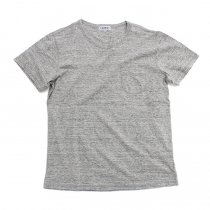 TAURUS Flat Seamed Pocket Tee ポケットTシャツ - Heather Grey