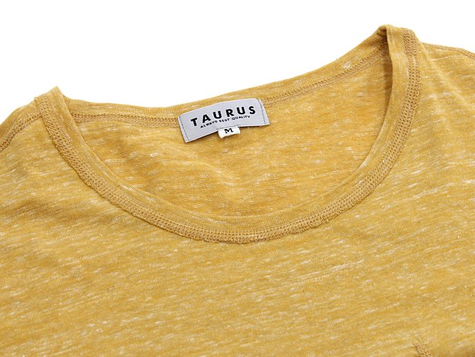 73397100 TAURUS / Flat Seamed Pocket Tee ポケットTシャツ - Heather Yellow<img class='new_mark_img2' src='//img.shop-pro.jp/img/new/icons47.gif' style='border:none;display:inline;margin:0px;padding:0px;width:auto;' /> 02