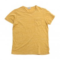 TAURUS / Flat Seamed Pocket Tee ポケットTシャツ - Heather Yellow