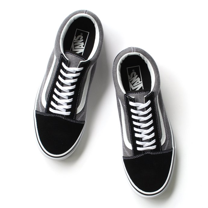 VANS Suede & Chambray Old Skool - Black<img class='new_mark_img2' src='//img.shop-pro.jp/img/new/icons47.gif' style='border:none;display:inline;margin:0px;padding:0px;width:auto;' /> 01