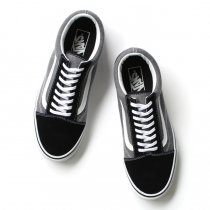 VANS Suede & Chambray Old Skool - Black
