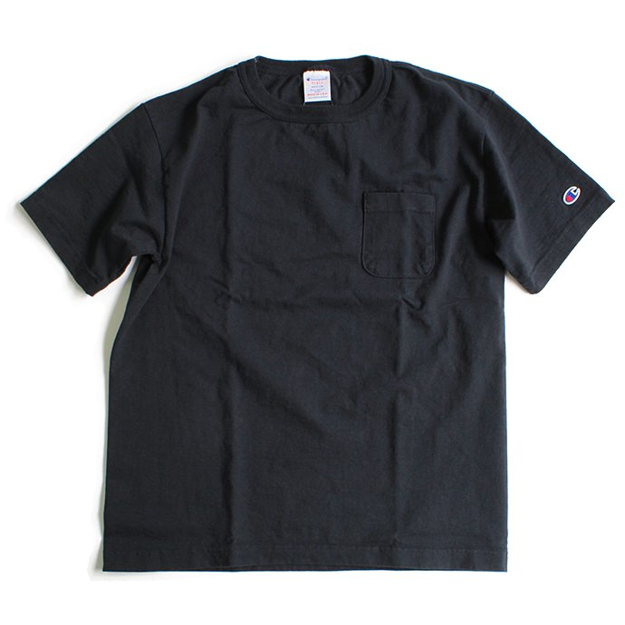 Champion Champion / T1011 ポケットTシャツ Made in USA - Navy<img class='new_mark_img2' src='//img.shop-pro.jp/img/new/icons47.gif' style='border:none;display:inline;margin:0px;padding:0px;width:auto;' /> 01