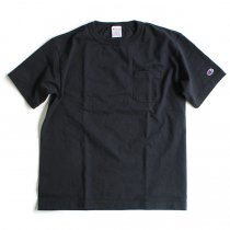 Champion / T1011 ポケットTシャツ Made in USA - Navy