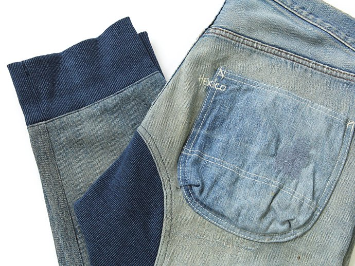 76500676 Hexico / Deformer Pants - Tapered Indigo Rib Ex. Vintage Levi's 501<img class='new_mark_img2' src='//img.shop-pro.jp/img/new/icons47.gif' style='border:none;display:inline;margin:0px;padding:0px;width:auto;' /> 02