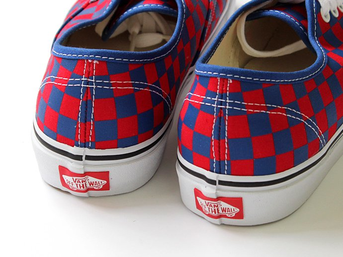 76566430 VANS / Golden Coast Authentic - Blue/Red Checker ゴールデンコースト オーセンティック チェッカー<img class='new_mark_img2' src='//img.shop-pro.jp/img/new/icons47.gif' style='border:none;display:inline;margin:0px;padding:0px;width:auto;' /> 02