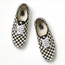 VANS / Golden Coast Authentic - Black/White Checker