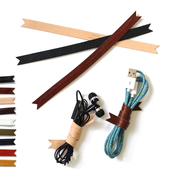 This is... Leather Cord Ribbon レザー コードリボン 全9色 01