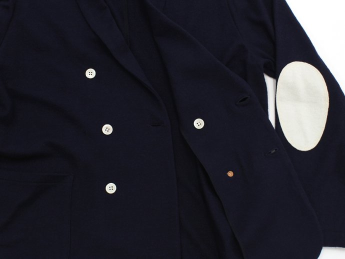 79080953 STILL BY HAND / ウール ショールカラー ダブルカーディガン - Navy<img class='new_mark_img2' src='//img.shop-pro.jp/img/new/icons47.gif' style='border:none;display:inline;margin:0px;padding:0px;width:auto;' /> 02