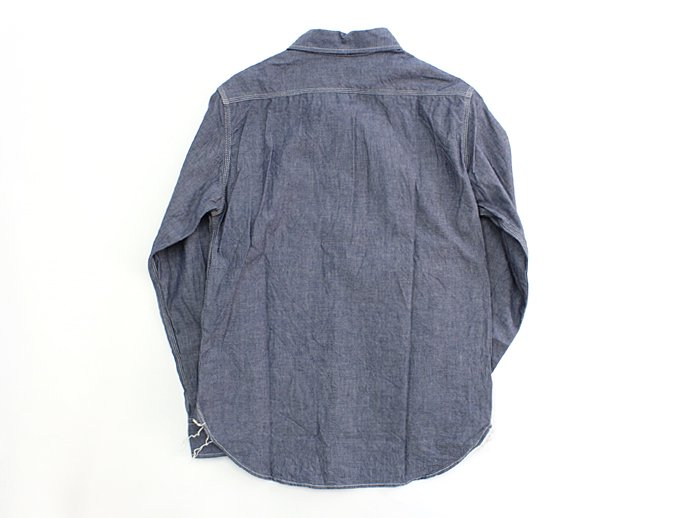TAURUS Workingman's Shirts - Chambray<img class='new_mark_img2' src='//img.shop-pro.jp/img/new/icons47.gif' style='border:none;display:inline;margin:0px;padding:0px;width:auto;' /> 02