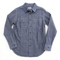 TAURUS Workingman's Shirts - Chambray<img class='new_mark_img2' src='//img.shop-pro.jp/img/new/icons47.gif' style='border:none;display:inline;margin:0px;padding:0px;width:auto;' />