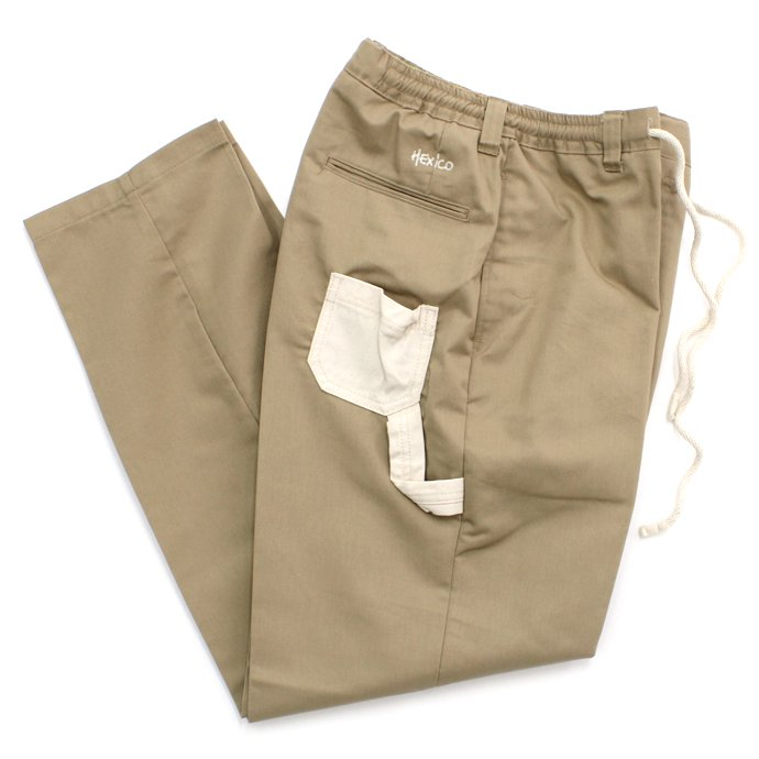 80817148 Hexico / Deformer Easy Pants - Little Pocket and Loop Ex. U.S. T/C Chino リメイクパンツ 01