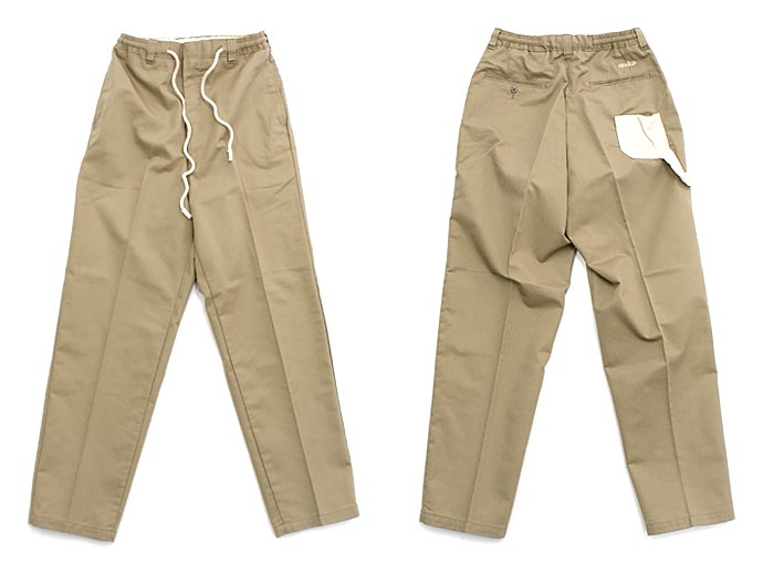 80817148 Hexico / Deformer Easy Pants - Little Pocket and Loop Ex. U.S. T/C Chino リメイクパンツ 02