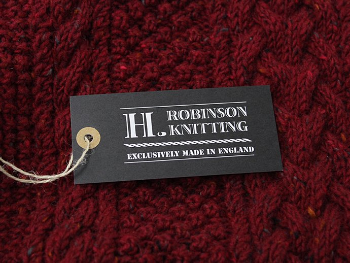 H. ROBINSON KNITTING H. ROBINSON KNITTING / Hand Knitted Spine Cable P/O - Red Arrows<img class='new_mark_img2' src='//img.shop-pro.jp/img/new/icons47.gif' style='border:none;display:inline;margin:0px;padding:0px;width:auto;' /> 02