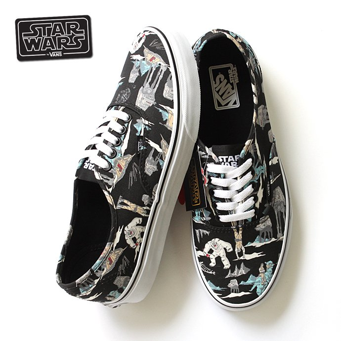 VANS Star Wars Authentic - Dark Side/Planet Hoth<img class='new_mark_img2' src='//img.shop-pro.jp/img/new/icons47.gif' style='border:none;display:inline;margin:0px;padding:0px;width:auto;' /> 01