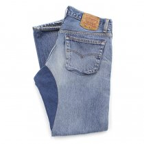 Hexico Deformer Pants - Quarter Tapered Indigo Rib - Ex. U.S. Made 501