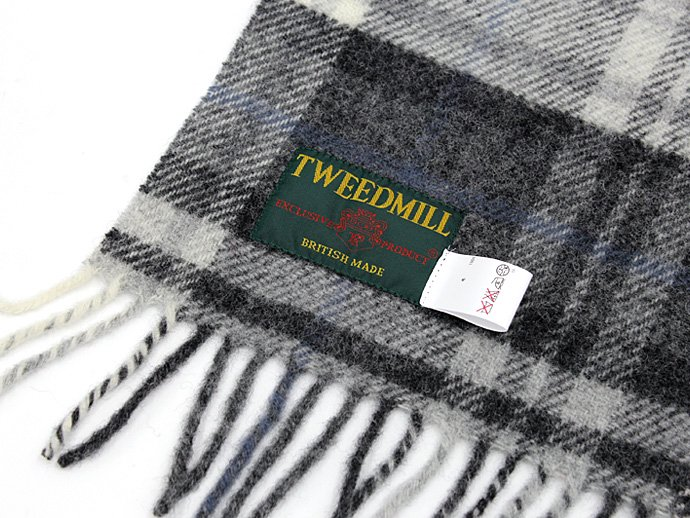 TWEEDMILL TWEEDMILL / ウール パッチワーク ブランケット/モノトーン<img class='new_mark_img2' src='//img.shop-pro.jp/img/new/icons47.gif' style='border:none;display:inline;margin:0px;padding:0px;width:auto;' /> 02